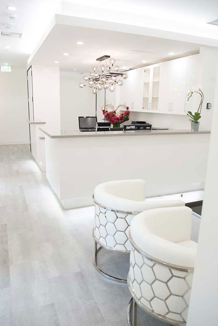 Patient area at Sabeti Cosmetic Dentistry