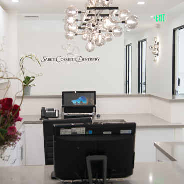 Interior at Sabeti Cosmetic Dentistry in West Hollywood.